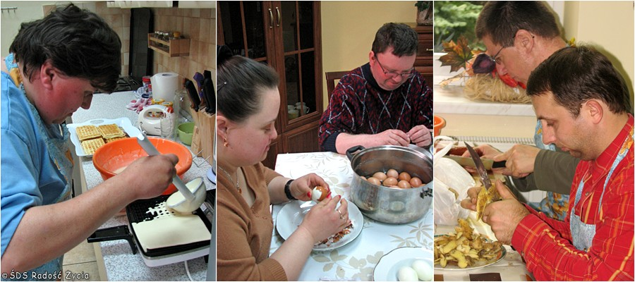 ŚDS Radość życia - Pracownia kulinarna
